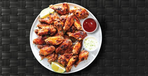 Chicken Wings Plated