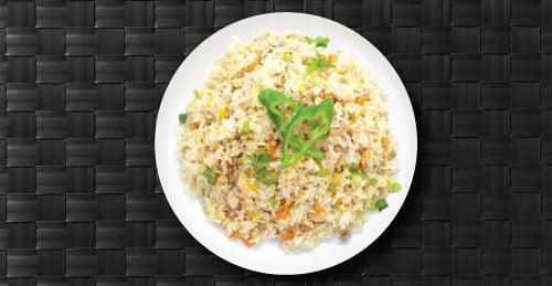 Fried Rice Food Plate