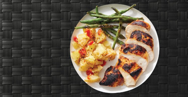Grilled Chicken. Customizable with Extra Protein, No Carb...