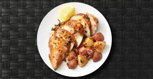 MealPro Sliced Chicken on Plate