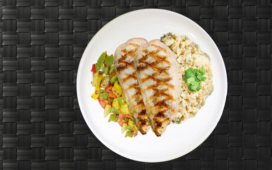 Meals tailored to your nutrition goals including high protein