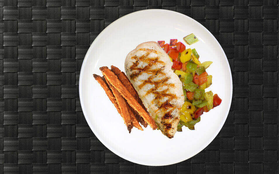 Make the meal count with all the right macros pre-portioned and pre-cooked for you