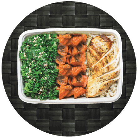 Your athlete meal plans are Made With Natural Ingredients