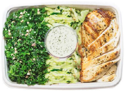 Enjoy Pre-Portioned and Pre-cooked  meals delivered to Louisville