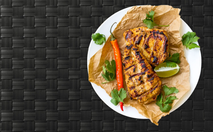 custom  Meals tailored to your nutrition goals including high protein