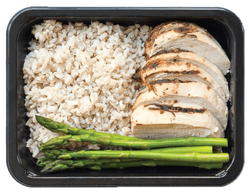 Enjoy Pre-Portioned  meals delivered to your door