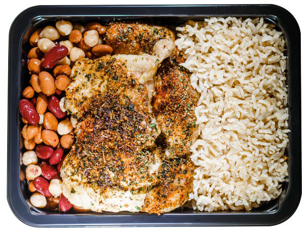 Enjoy Pre-Portioned muscle meals delivered to your door