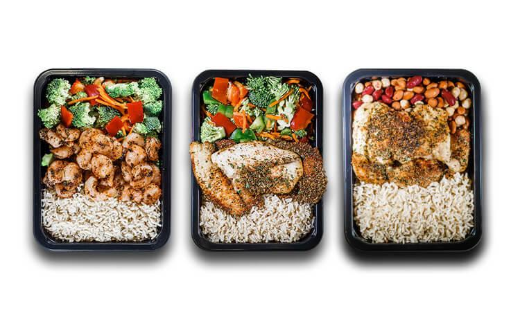 Detroit Bodybuilding Meal Prep Large Food Portions