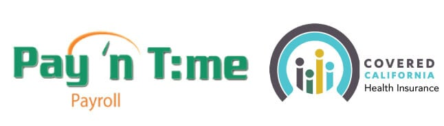 Logos of MealPro HR partners Covered CA and Pay'n Time Payroll Services