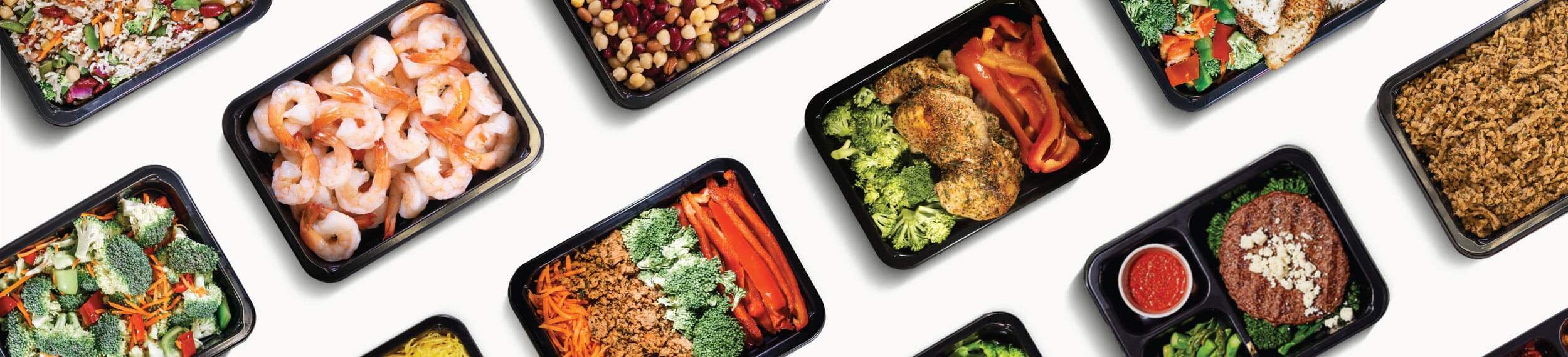 Healthy Louisville weight loss meals served in a microwave safe weight loss meal prep containers